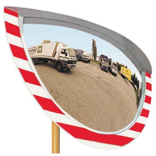 Espejo industria interior/exterior con marco, 1050 x 600 mm 1