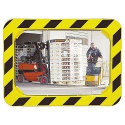 Espejo logística interior/exterior con marco, 680 x 500 mm