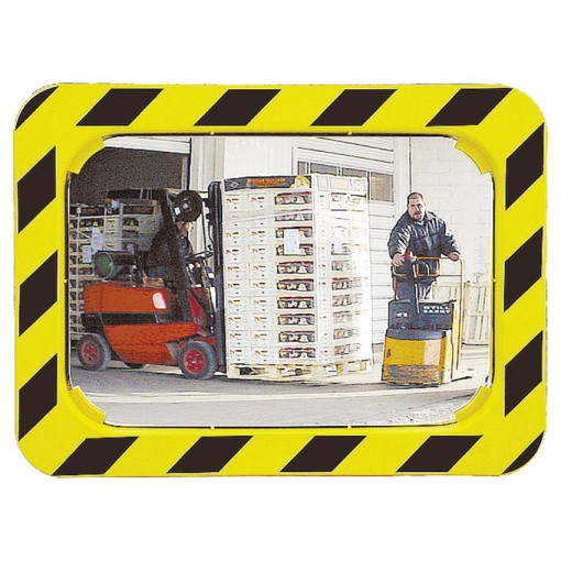 Espejo logística interior/exterior con marco, 680 x 500 mm 1