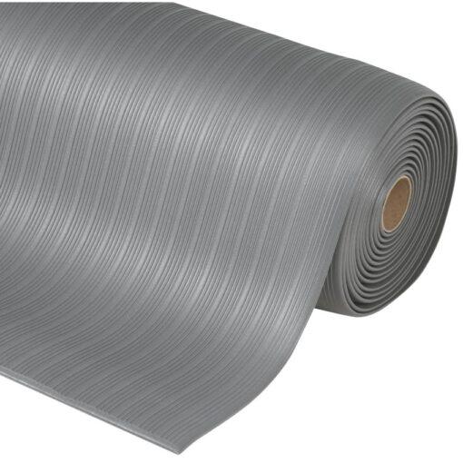 Airug® Alfombra antifatiga  para uso corriente Color Gris en rollo de 18,3m