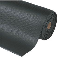 Airug® Alfombra antifatiga  para uso corriente Color Negro en rollo de 18,3m.