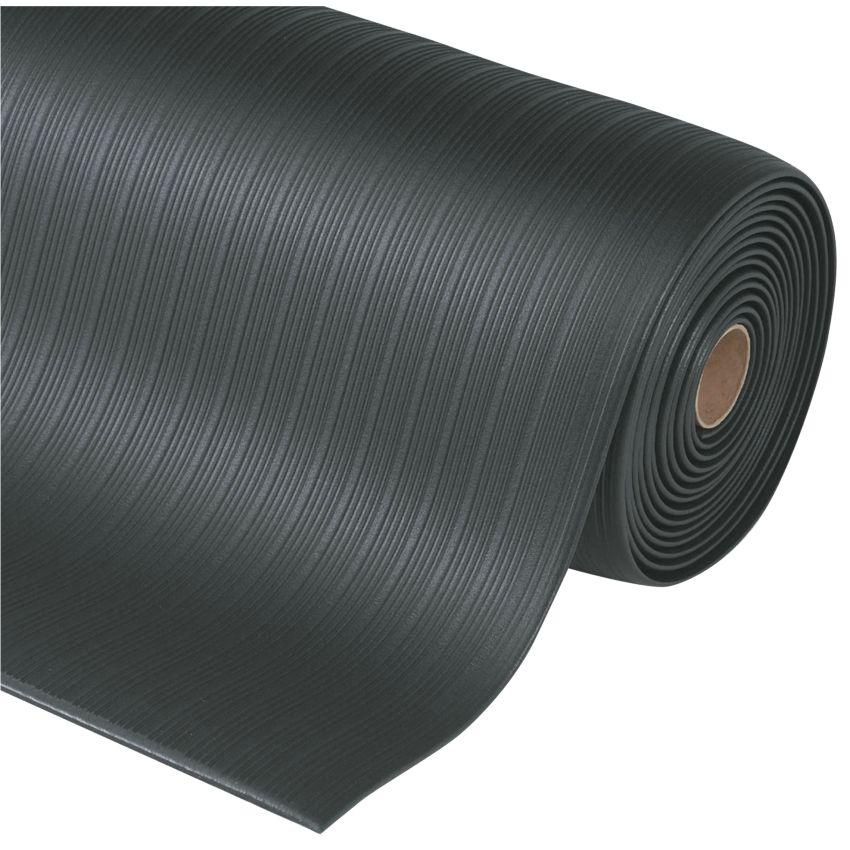 Airug alfombra antifatiga para uso corriente color negro en rollo de 18 3m hal co - Alfombra en rollo ...