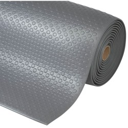 Bubble Sof-Tred™ Alfombra antifatiga  para uso intensivo Color Gris en rollo de 18,3m.