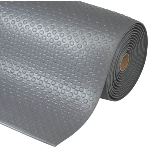 Bubble Sof-Tred™ Alfombra antifatiga  para uso intensivo Color Gris en rollo de 18,3m