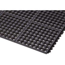 Cushion-EaseTM  Losas-rejillas modulares de caucho para uso intensivo 91 cm x 91 cm x 1,9 cm