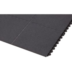 Cushion-EaseTM Losas modulares de caucho para uso intensivo 91 cm x 91 cm x 1,9 cm