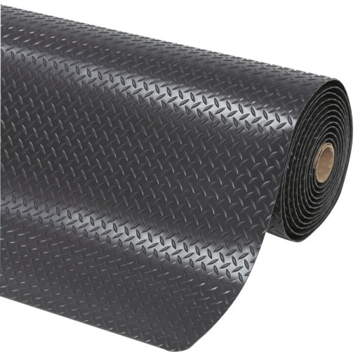 Cushion Trax® Alfombra antifatiga superadherente  Color Negro para uso extremo (de 1m hasta 22,8m) Ancho 91cm 1