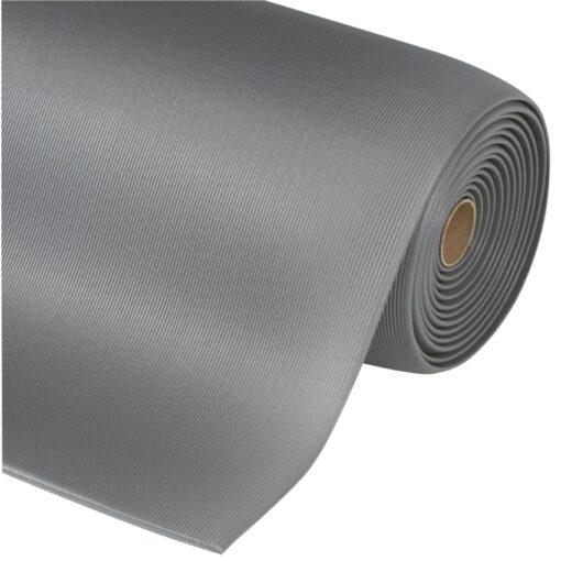 Gripper Sof-Tred™  Alfombra antifatiga para uso intensivo Color Gris en rollo de 18,3m