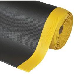 Gripper Sof-Tred™ Alfombra antifatiga para uso intensivo Color Negro con viselado en Amarillo en rollo de 18,3m.