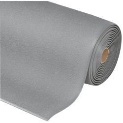 Sof-Tred Alfombra antifatiga  gran anchura para uso corriente Color Negro en rollo de 18,3m.