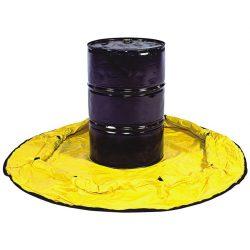 Balsa de retención flexible en polietilento para 1 bidón 8,9 cm x 8,9 cm x 2,05 cm