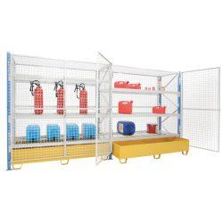 Elemento siguiente para armario enrejado de seguridad cargas semipesadas