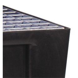 Rejilla de acero para cubeta de retención 118,5 cm x 78 cm x 3 cm