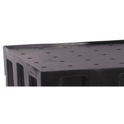Rejilla de polietileno para cubeta de retención 118,5 cm x 78 cm x 3 cm