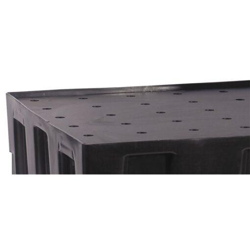 Rejilla de polietileno para cubeta de retención 118,5 cm x 78 cm x 3 cm 1