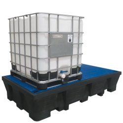 Cubeta de retención 2 GRG/IBC´s , 1100 litros Prim's | Haleco 01