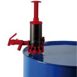 Bomba manual con pistón en polipropileno 20 L/min
