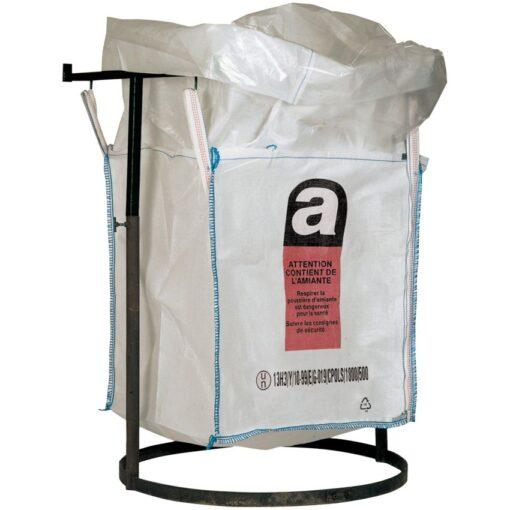 Big bag para amianto con faldón de cierre 1