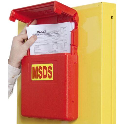 Caja de protección para armario de almacenamiento 31,5 cm x 26 cm x 5,5 cm 1