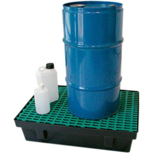 Cubeta de retención de polietileno para frascos, 30 litros 61,8 cm x 42 cm x 15,5 cm 1