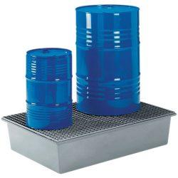 Cubeta de retención de poliéster 2 bidones, 220 litros