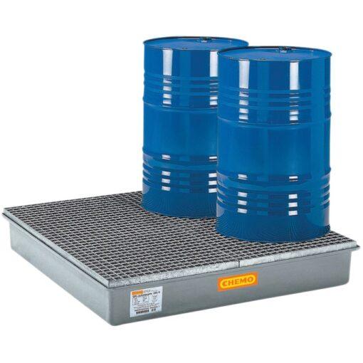 Cubeta de retención de poliéster 4 bidones, 220 litros 1