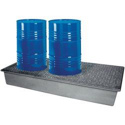 Cubeta de retención de poliéster 3 bidones, 220 litros