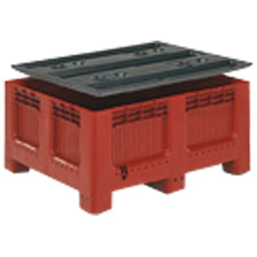 GEOBOX® Tapa para cajas-palets 543 L,, 122 cm x 101,7 cm x 4,2 cm 1
