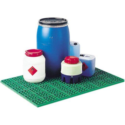 Losa de protección de polipropileno, 2,5 litros 50,8 cm x 50,8 cm x 3 cm 1
