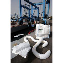 Kit anticontaminación hidrocarburos en big-bag. Para intervenciones en el entorno maritimo. 800 L