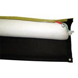 6 barreras absorbentes hidrocarburos con faldón desechables. 300 cm x Ø16 cm