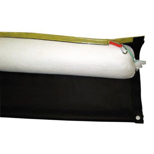 4 barreras absorbentes hidrocarburos con faldón desechables