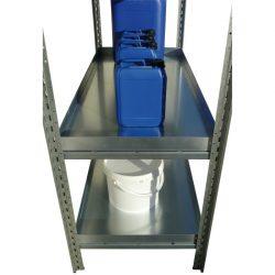 Estante para estantería para productos contaminantes